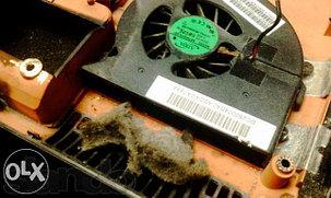 Чистка моноблока от пыли, фото 2