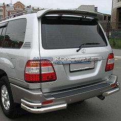 Обвес, защита бамперов, порогов из нержавеющей стали Toyota LC 100