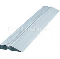 Правило алюминиевое, двойной захват, 2 ребра жесткости, L-2.5 м 89618 (002)