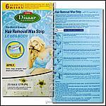 Восковые полоски Disaar для депиляции., фото 2