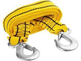 Трос буксировочный Stayer Standart  (2 крюка, сумка, 4м, 2,5т)