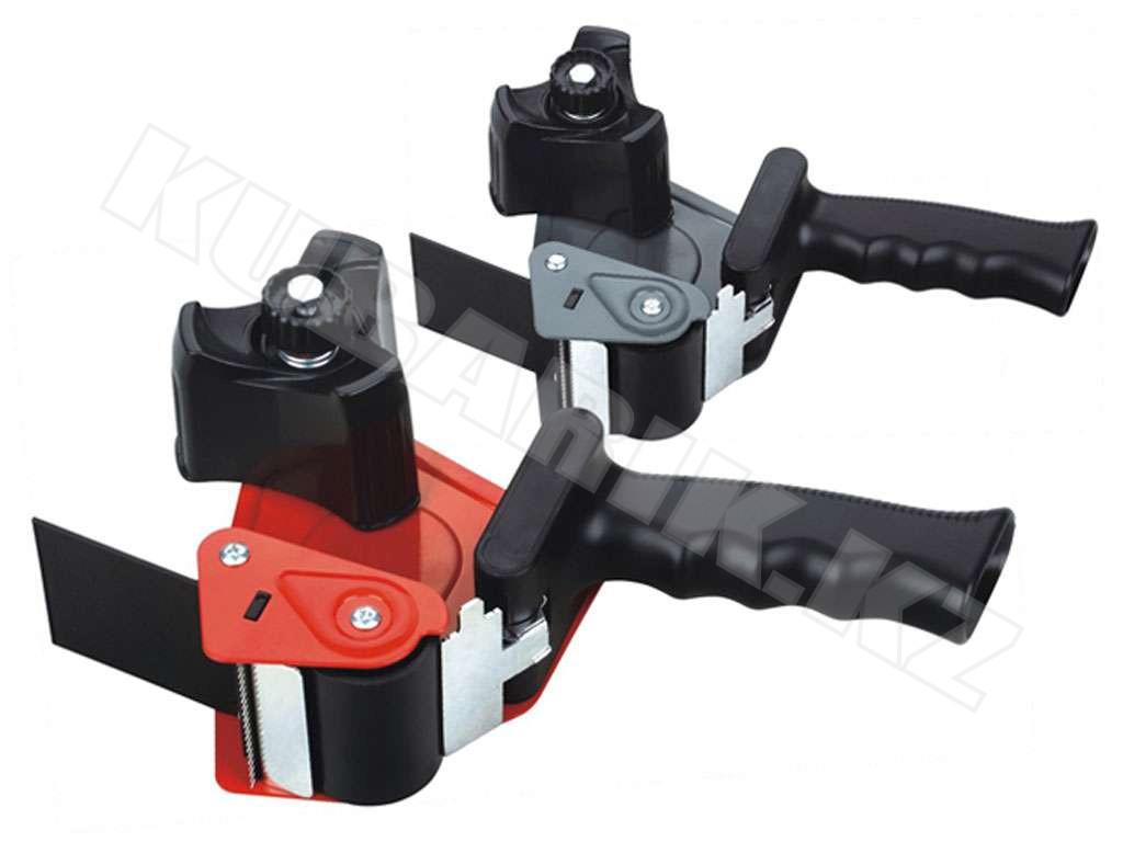 Диспенсер для упаковочной ленты DELI, металлический (ширина ленты до 60 мм), красный
