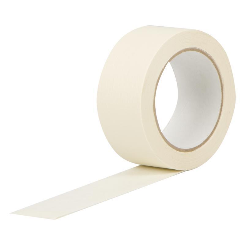 Клейкая лента бумажная (малярная) 48 мм х 30 м