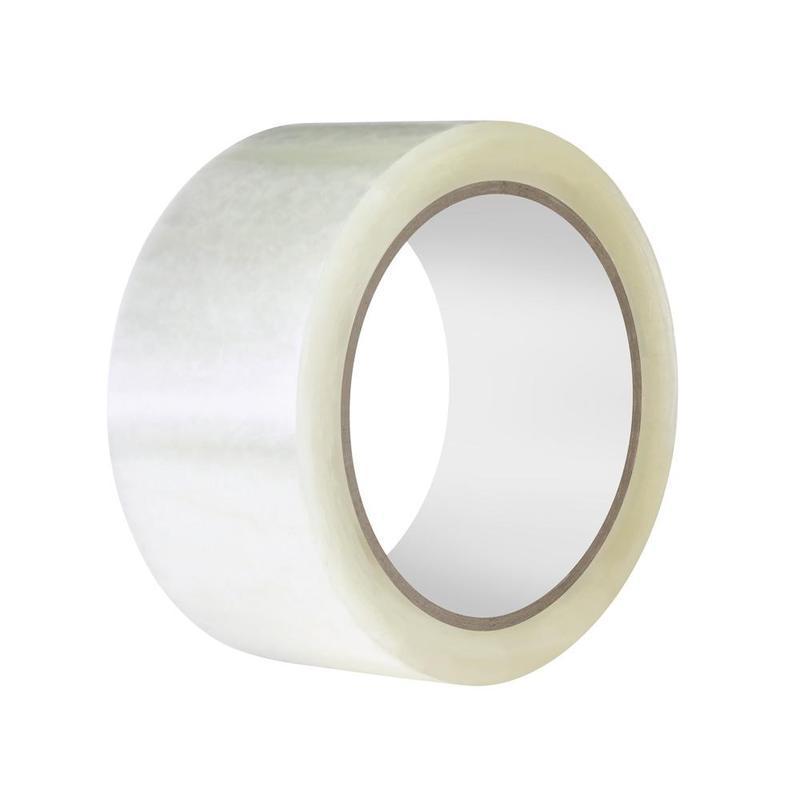 Клейкая лента упаковочная 48 мм х 100 м, прозрачная