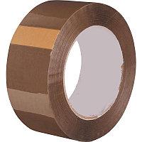 Клейкая лента упаковочная 48 мм х 66 м, коричневая