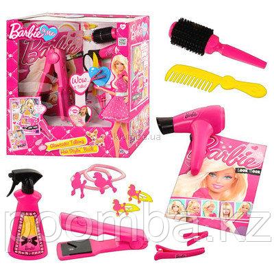 Набор Barbie для ухода за волосами + журнал