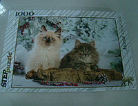 """Степ. Пазл 1000 """"Кошки"""", фото 1"""