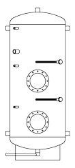 Бак ВТП-2, 750 л