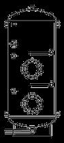 Бак ВТП-2, 2000 л, промышленный