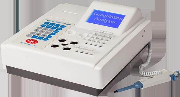Полуавтоматический четырехканальный коагулометр TS4000