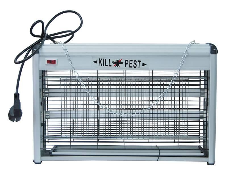 Уничтожитель летающих насекомых ультрафиолетовый PEST KILLER 20watt - фото 2