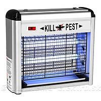 Уничтожитель летающих насекомых ультрафиолетовый PEST KILLER 20watt - фото 3