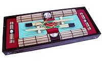 9588 FISSMAN Набор для суши 10 пр. на 2 персоны в деревянной коробке (керамика, бамбук, дерево)