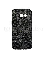 Чехол для смартфона Samsung SM A520 Galaxy Remax со стразами черный