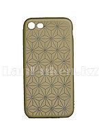 Чехол для смартфона Iphone 7G/8G Remax со стразами золотистый