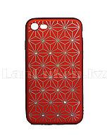 Чехол для смартфона Iphone 7G/8G Remax со стразами красный