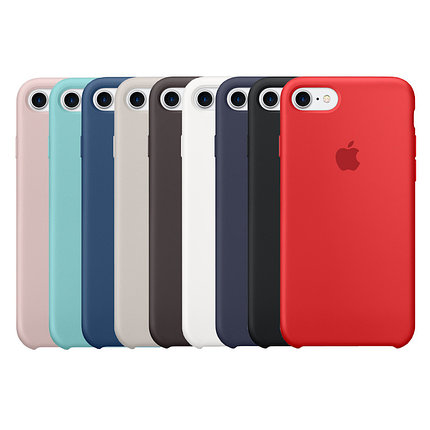 Чехол силиконовый Apple Store, Silicone Case, Apple iPhone 7, iPhone 8, фото 2