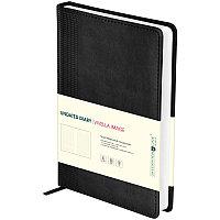 """Ежедневник Greenwich Line """"Vivella Image"""" А5, недатированный, 320 страницы, черный"""