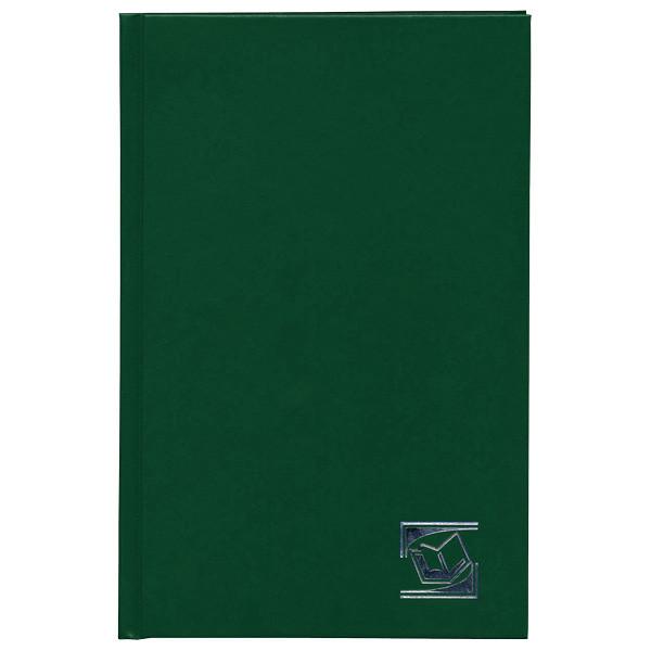 """Ежедневник INDEX """"БУМВИНИЛ"""" А5, недатированный, 256 страниц, зеленый"""