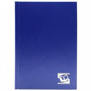 """Ежедневник INDEX """"БУМВИНИЛ"""" А5, недатированный, 256 страниц, синий"""