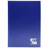 """Ежедневник INDEX """"БУМВИНИЛ"""" А6, недатированный, 256 страниц, синий"""