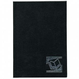"""Ежедневник INDEX """"БУМВИНИЛ"""" А5, недатированный, 256 страниц, черный"""