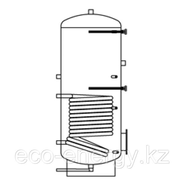 Бак ВТП-4, 1000 л, промышленный