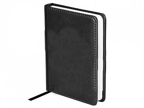 """Ежедневник OfficeSpace """"Nebraska"""" А6, недатированный, 272 страницы, черный"""
