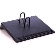 Подставка для настольного перекидного календаря, черная
