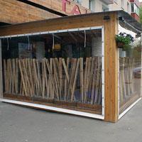 Мягкие окна для летнего кафе и ресторана