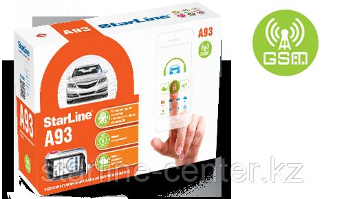 Автомобильная сигнализация StarLine A93 GSM