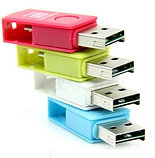 Картридер OTG  Micro (Tf) на Micro USB , фото 2