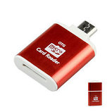 Картридер OTG  Micro (Tf) на Micro USB , фото 6