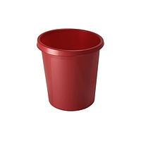 Корзина для мусора СТАММ 9 литров, цельная, Вишня