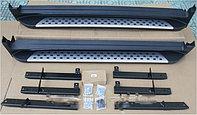 Родные пороги / подножки на Nissan X-trail 2014-18