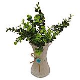 Цветы искусственные, с вазой, фото 8