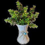Цветы искусственные, с вазой, фото 2