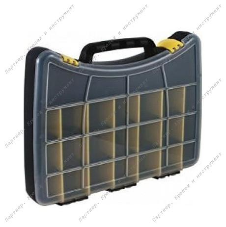 (65652) Ящик для крепежа пластиковый 40*30*6 см