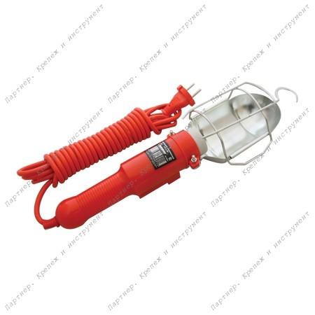 (83326) Светильник переносной 5 м. с выключателем и розеткой (СП-5-ВР)