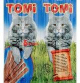 TOMI палочки - для кошек (с лососем и форелью) 6 шт. по 5 гр., фото 1