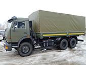 Тент КАМАЗ 53229 ХАКИ