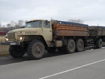 Тент на Урал 5557