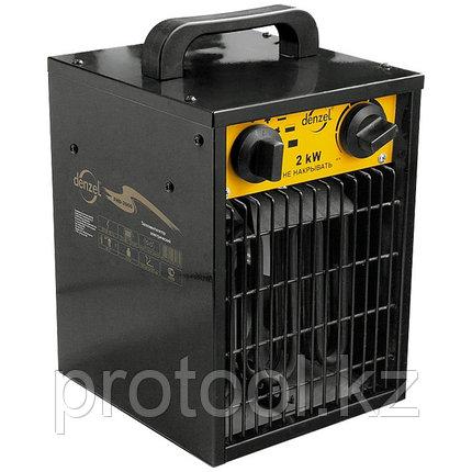 Тепловой вентилятор электрический FHD - 5000, 5 кВт, 2 режима, 380 В / 50 Гц DENZEL, фото 2