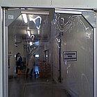 Самозакрывающиеся двери из пластифицированного ПВХ, фото 3