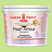 Декоративная краска Гауди Pearl Amour