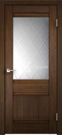 Межкомнатная дверь из экошпона Прима орех