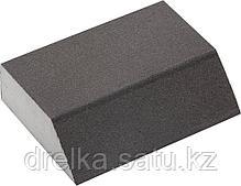 """Губки шлифовальные ЗУБР """"МАСТЕР"""" четырехсторонние угловые, средняя жесткость, 100х68х42х26мм, фото 2"""