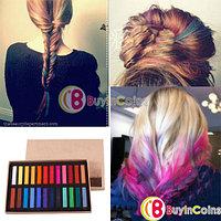 Набор цветных мелков для волос (24 цветов), фото 1