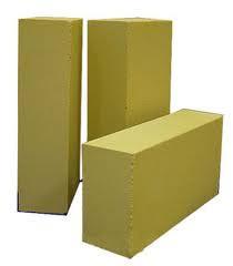 Силикатный кирпич лицевой утолщенный желтый 250*120*88