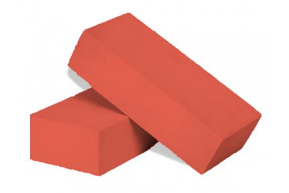 Силикатный кирпич лицевой утолщенный красный 250*120*88